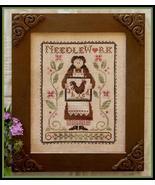 My Needle's Work Chart Threadpack cross stitch Little House Needleworks   - $18.90