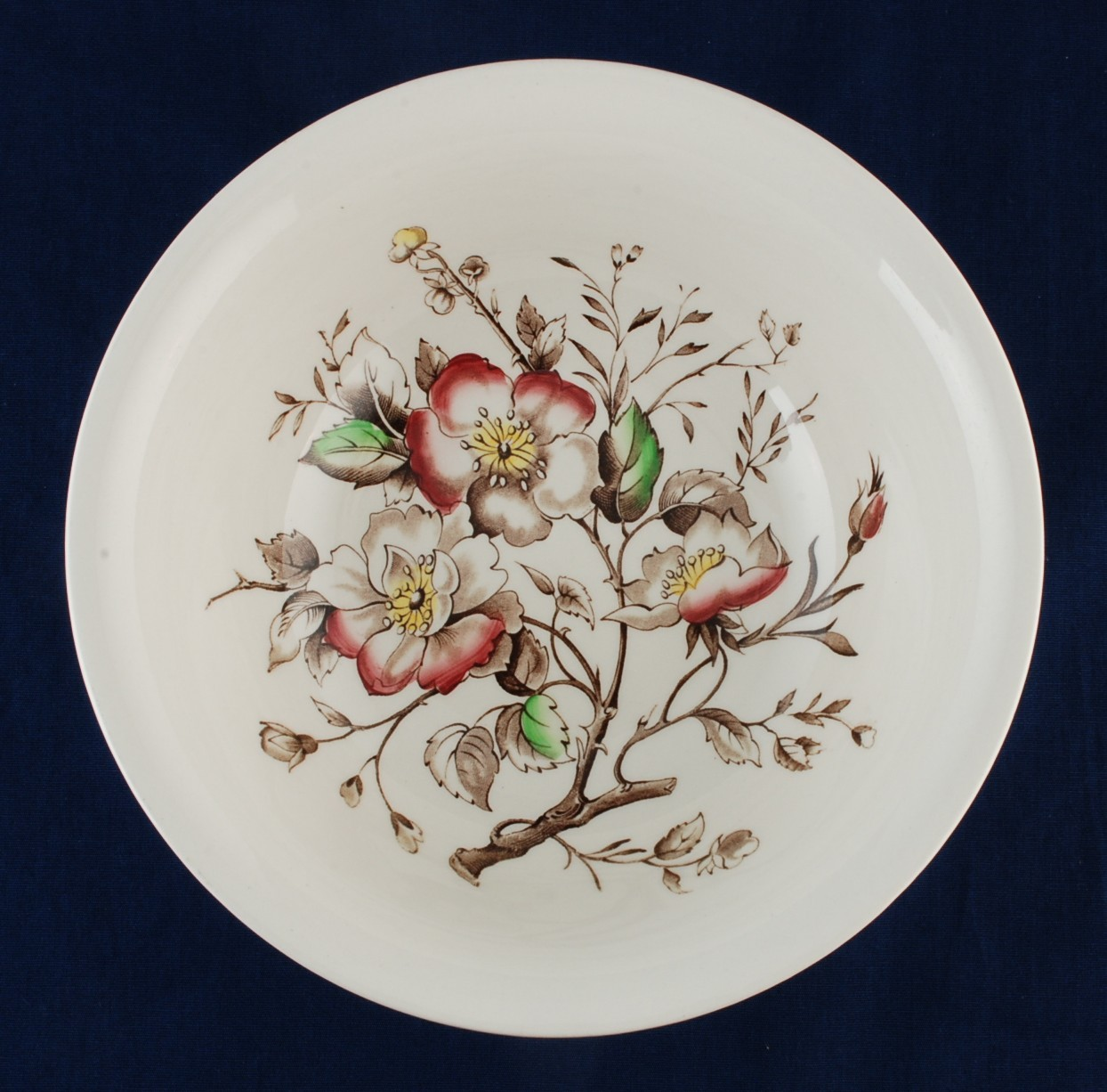 Alfred Meakin Wild Rose Round Serving Bowl Used & Alfred Meakin Wild Rose Round Serving Bowl and 50 similar items