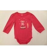 GYMBOREE NWT Girls Pink Sparkle Circus Piglet Bodysuit Tee Top Size 18-24 Months