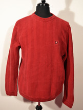 Free ship Chaps Men's Red Knit Sweater Size M Medium Sweater Mint Condition - $25.00