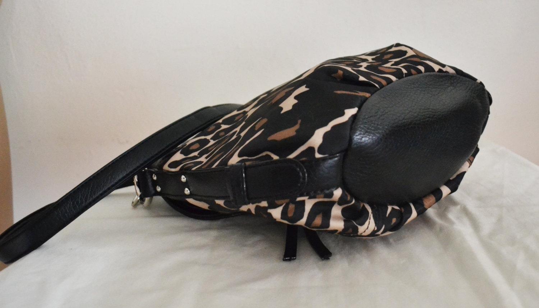 Free Ship Animal Print Purse Clean Nylon Shoulder Bag