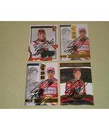 Greg Biffle Autographed 4 card lot #1 Nascar racing  - $9.99
