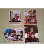 Greg Biffle Autographed 4 card lot #2 Nascar racing  - $8.99