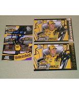 Matt Kenseth Autographed 3 card lot #3 Nascar racing  - $9.99