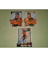 Tony Stewart Autographed 3 card lot #2 Nascar racing  - $9.99