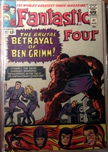 Fantastic Four # 41 VG VERY GOOD Maevel Comics - $65.99