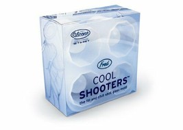 Fred COOL SHOOTERS Silicone Shot Glass Mold Bar Party Shots NEW FREE SHI... - $15.84