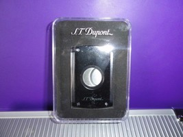 S.T.Dupont Black Lacquer Cigar Cutter with Leather Pouch - $175.00