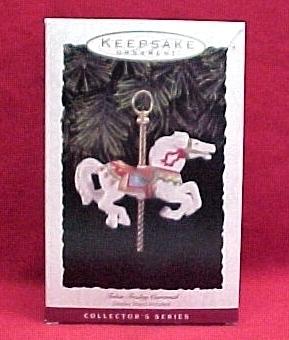 1993 Hallmark Tobin Fraley Carousel Christmas Ornament