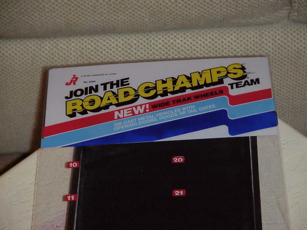 Road Champs Item # 2000 60 Units 1983