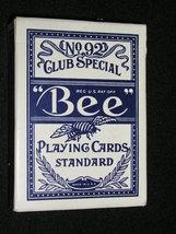 "DECK OF ""BEE"" BLUE - DIAMOND BACK - CASINO PLAYING CARDS - (sku#2313) - $5.99"