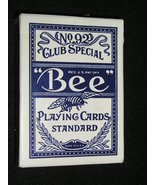 """Deck of """"Bee"""" Blue Diamond Back - Red Lion Casino Playing Cards - (sku#2... - $14.99"""