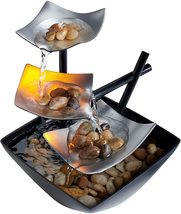 Relaxation Indoor Tabletop Fountain (Silver Springs) - $75.00