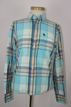 Abercrombie Kids Multi-Colored Long Sleeve Button Up Sz XL - $9.49
