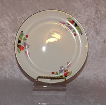 "Hall 9"" Dinner Plate Crocus Pattern Superior Hall Vintage Dinnerware Chi... - $14.49"