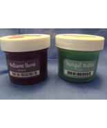 Scentsy New 2 Sample Jars Wickless Wax for Melters Tranquil Waters Welco... - $2.95