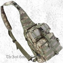 Small Digital Camo Sling Backpack Day Bug Out Pack Military Tactical Bag - $35.99