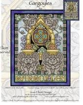 Gargoyles JE131 cross stitch chart Joan Elliott Designs - $14.00