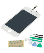 White Glass LCD Digitizer Display Screen Replacement for Ipod Touch 4TH ... - $39.58