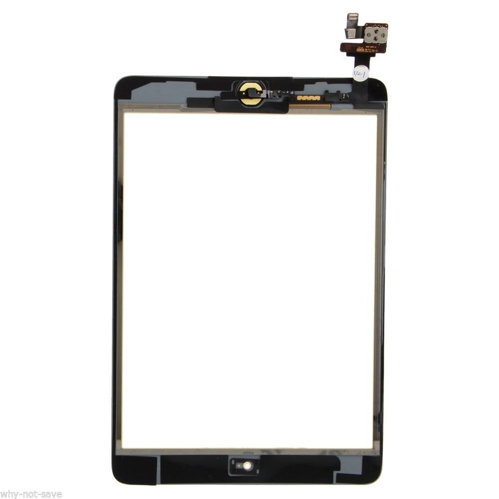 Screen Digitizer Replacement for Black Ipad Mini 2 A1489 with Retina Display