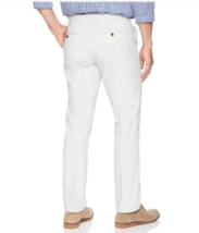 Amazon Men's Slim-Fit Wrinkle-Resistant Flat-Front Chino Pant, WHITE 32W X 32L image 3