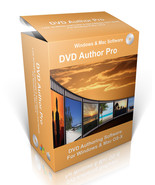 DVD Author Pro Editing Software For Windows Vista 7, 8, 10 & Mac OS-X - $10.00