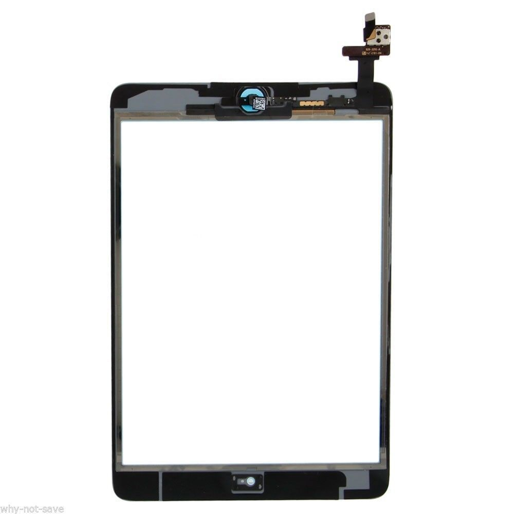 GlasS Screen Digitizer Flex Replacement Part for Yellow Ipad Mini 2 A1490 AT&T