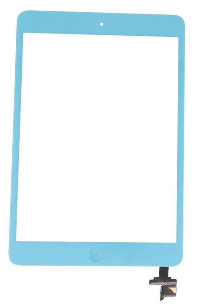 Light blue ipad