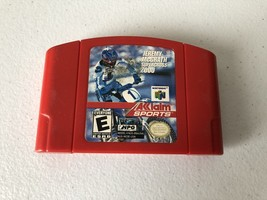 Jeremy McGrath Supercross 2000 - Nintendo 64 N64 - Cleaned & Tested - $6.79