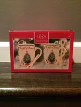Lenox The Gifts of Friends Cocoa Mugs - NIB - $29.69