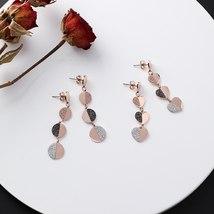 Good Quality Stainless Steel Titanium Heart Long Tassel Earrings For Wom... - $13.35