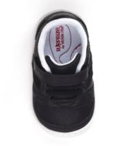 Baby Toddler Boys Surprize by Stride Rite Alec Hook & Loop Sneakers Black White image 3