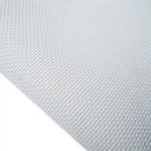 White 28ct evenweave 19x35 cross stitch fabric Fabric Flair - $16.20