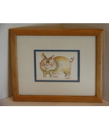 Fanciful Cat :Nedobeck Handsigned Lithograph - SMILE - $10.49