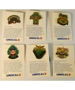 1987 Lot of Unocal 76 Gas & Oil Los Angeles Dodgers Anniversary Pins Promos - $9.89