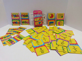 Trend Fractions Dominoes Challenge Cards Game - Educational Play & Learn... - $9.48