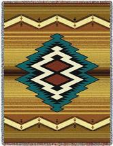 70x53 MAIMANA Southwest Native Tapestry Afghan Throw Blanket - $60.00
