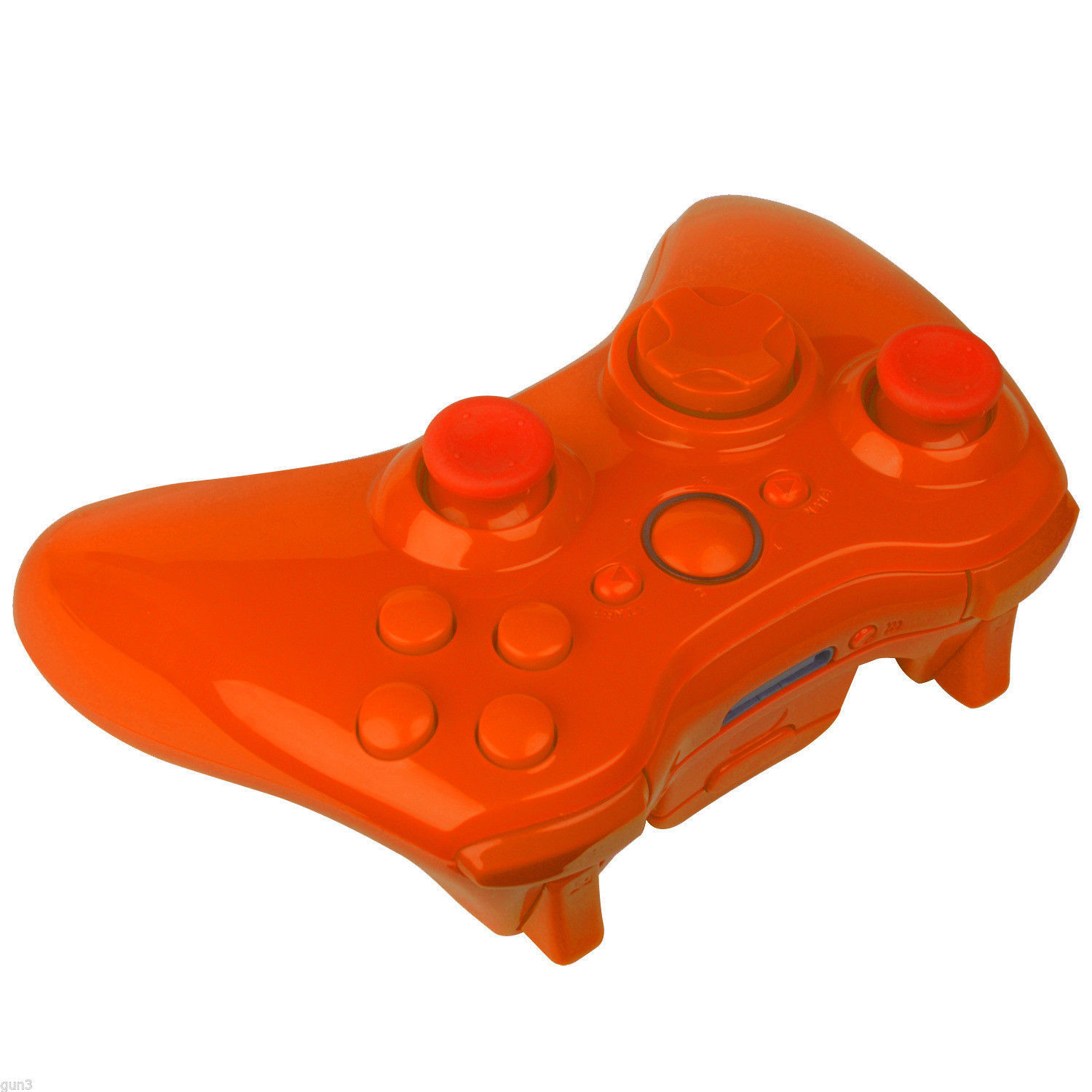 Wireless Controller Shell for Xbox 360 in Solid Orange