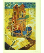 "Dr. Seuss. ""Midnight Paintings"" Surrealism Print. ""That Winter Spring Ca... - $24.75"