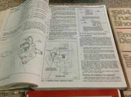 1984 Ford F-150 F150 250 350 F350 Bronco Truck Service Shop Repair Manual Set image 12