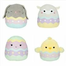 """Squishmallow Kellytoy Set of 4 Springtime Easter Egg Collection 8"""" Mini Plush Do - $45.13"""