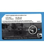 NYC Brooklyn Subway Service centennial Metrocard in English - $4.99