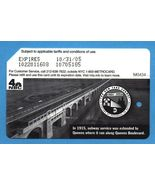 NYC Queen's Subway Service centennial Metrocard in English - $4.99