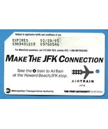 NYC Make the JFK Connection Metrocard - $7.99