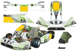 Go Kart Graphics Kit Decal Sticker Wrap For Tony Kart Venox CARBON X RED