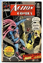 ACTION COMICS #406 1971-SUPERMAN-FLASH-ATOM-BLACK COVER VG - $27.74