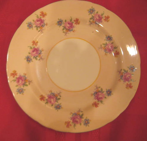 RARE Pale Pink Aynsley Salad Plate Pattern #H633