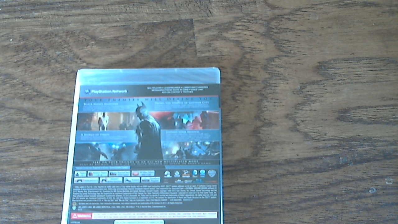 Batman Arkham Originas (2013, PlayStation 3) Brand New and Sealed