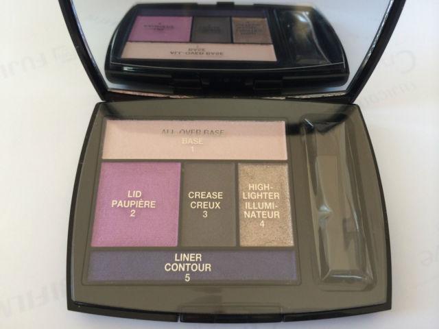 Lancome ' Color Design ' 5 Shadow & Liner Palette # 304  LILAC SEDUCTION