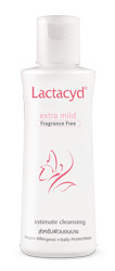LACTACYD EXTRA MILD FRAGRANCE FREE INTIMATE CLEANSING